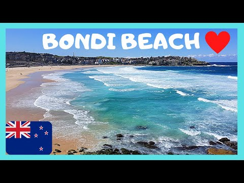 BONDI BEACH: Sydney's Most Scenic 🏖️ And Busiest Beach (Australia)