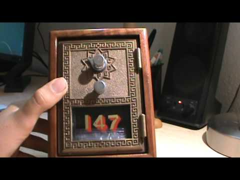 My Vintage 1966 P.O Box Door Bank - My Vintage 1966 P.O Box Door Bank - YouTube
