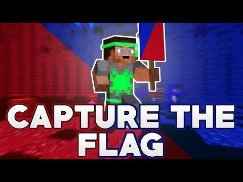 """Dansk Minecraft - Capture The Flag - """"DER ER PARKOUR!!!"""""""