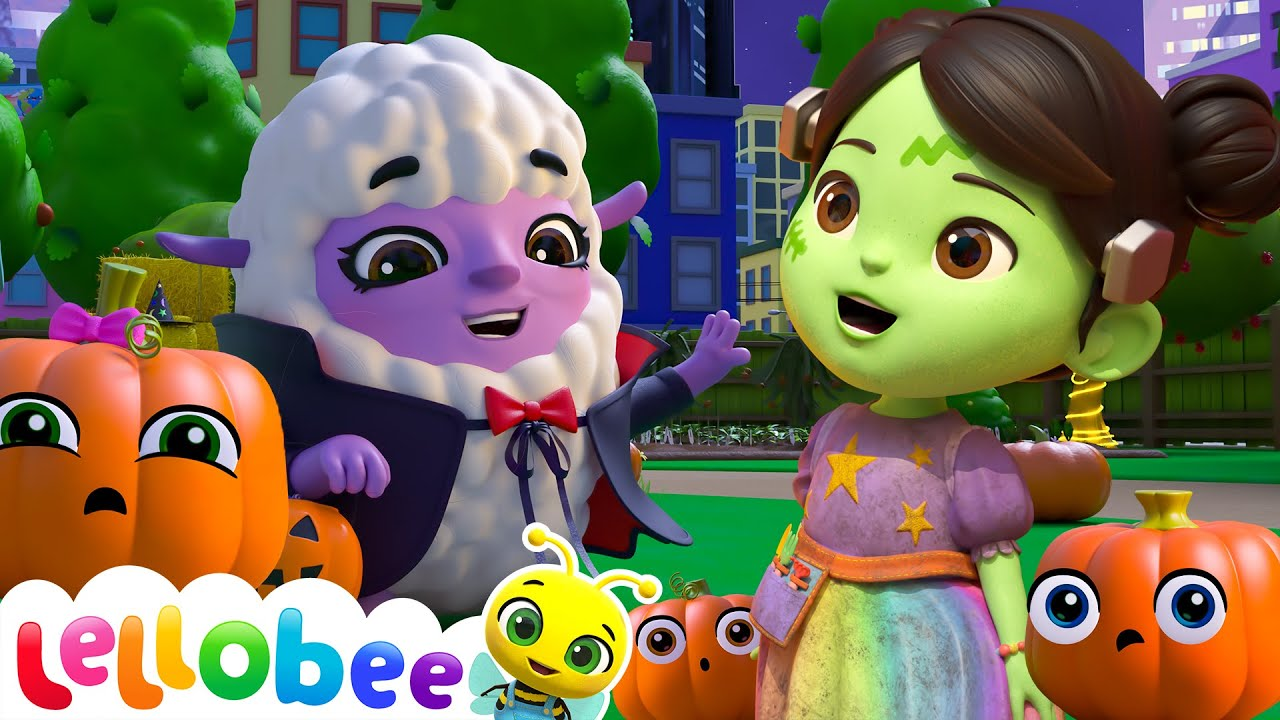 No Monsters Scared Of The Dark - @Lellobee City Farm - Cartoons & Kids Songs | Moonbug Kids