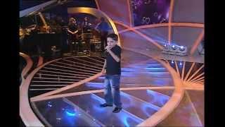Programa Raul Gil - Alexandre Nunes (Esse Cara Sou Eu) - Jovens Talentos Kids 2013 - #JT2013
