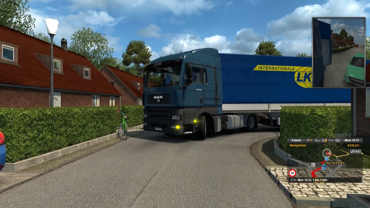 ETS2 tight place for unloading 1.27 #1