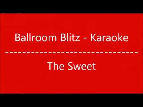 Ballroom Blitz - Karaoke
