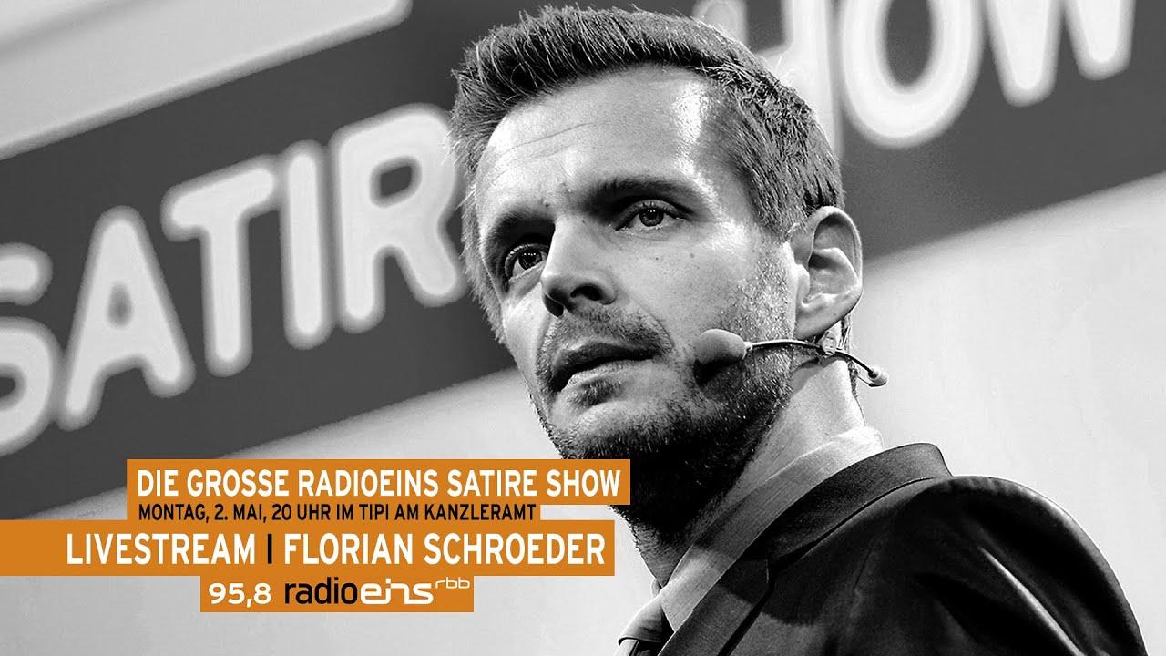 """Die """"Große radioeins Satireshow"""" vom 02.05.2016"""