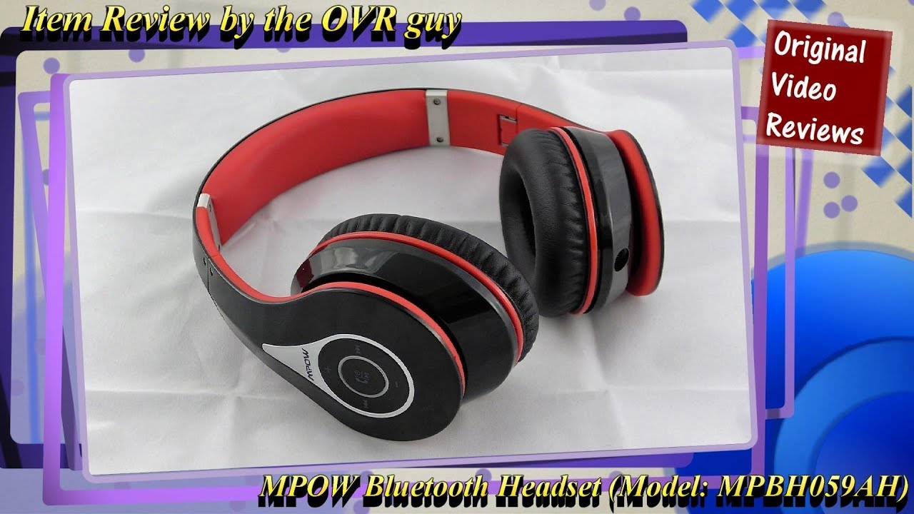 MPOW 059 Bluetooth Headset Review
