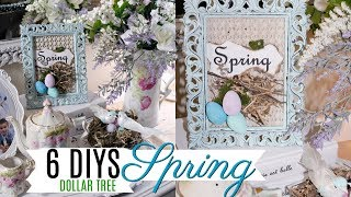 🌸 6 DIY SPRING EASTER FRENCH FARMHOUSE DOLLAR TREE DECOR CRAFTS 🌸 OLIVIAS ROMANTIC HOME DIY 2019