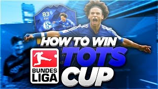 HOW TO WIN THE BUNDESLIGA TOTS CUP!!! | FIFA 16 Ultimate Team