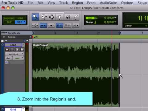 Changing a Loop's Tempo in Pro Tools – Berklee Online Take Note