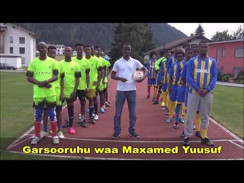 CIyaartii Kubadda Cagta FC Davos iyo FC Chur Maalintii Ciidul-Fitriga