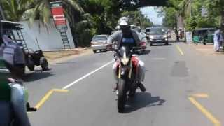 Kusal Chathuranga-Super Bike Tour 2013With FriendZ (Team StreeTChallngerZ in SL)