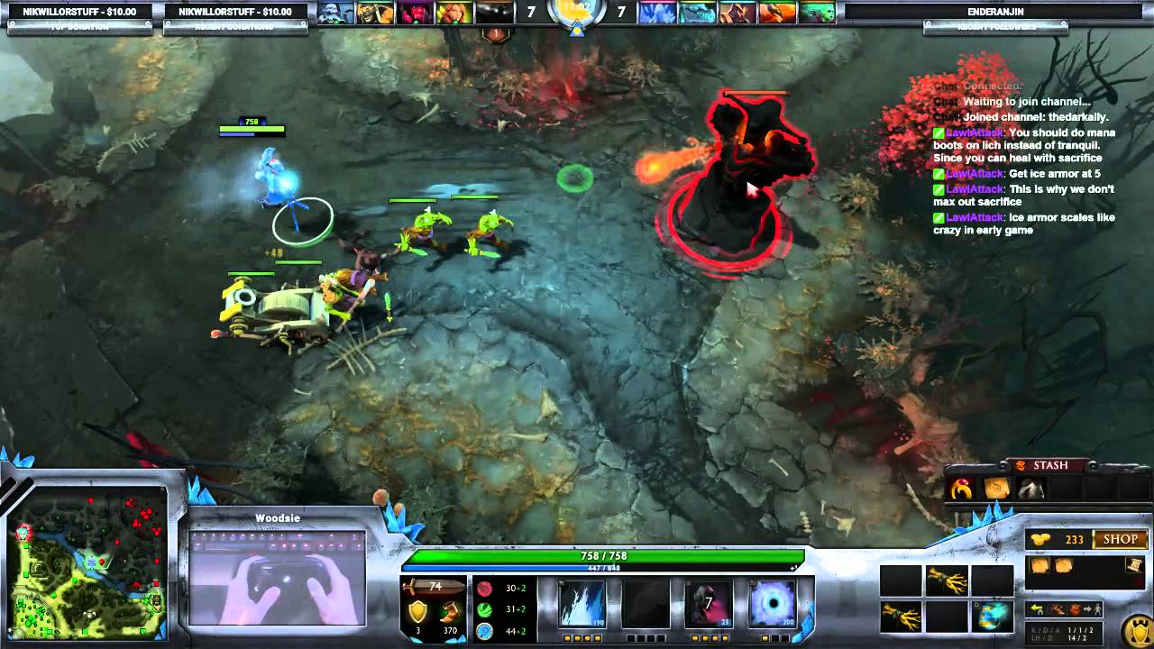 long dota game with steam controller youtube
