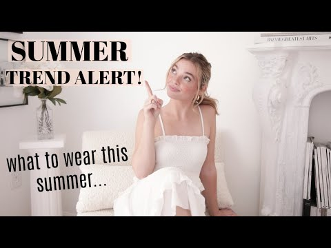 SUMMER TREND ALERT!