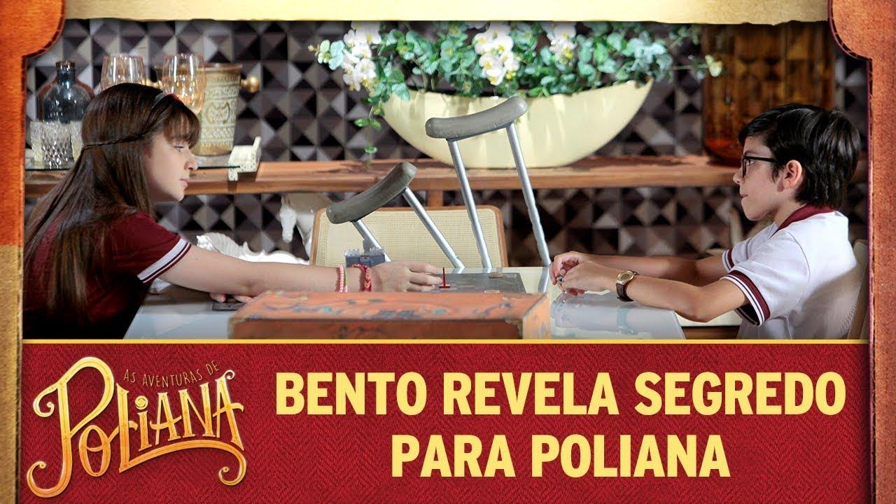 Bento revela segredo para Poliana | As Aventuras de Poliana
