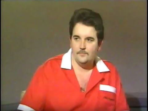 Phil Taylor Interview about Jocky Wilson and Eric Bristow - 1991 BDO World Championship