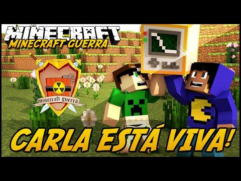 Minecraft Guerra: Origens - CARLA ESTÁ VIVA! #7