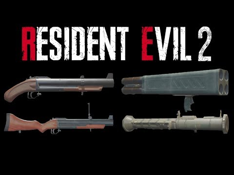 Resident Evil 2 Remake | HD Weapons Review - Part 5 {Final}
