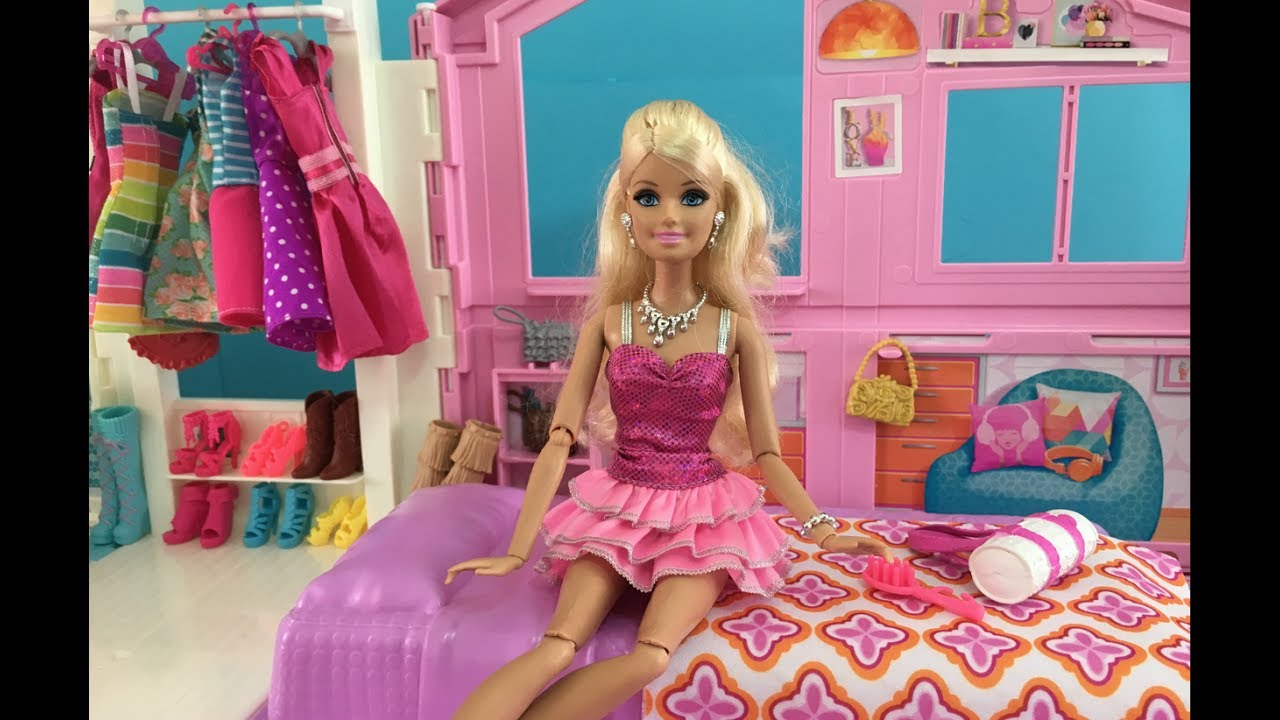 Barbie Bedroom New Dreamhouse Episode Help Barbie Choose An