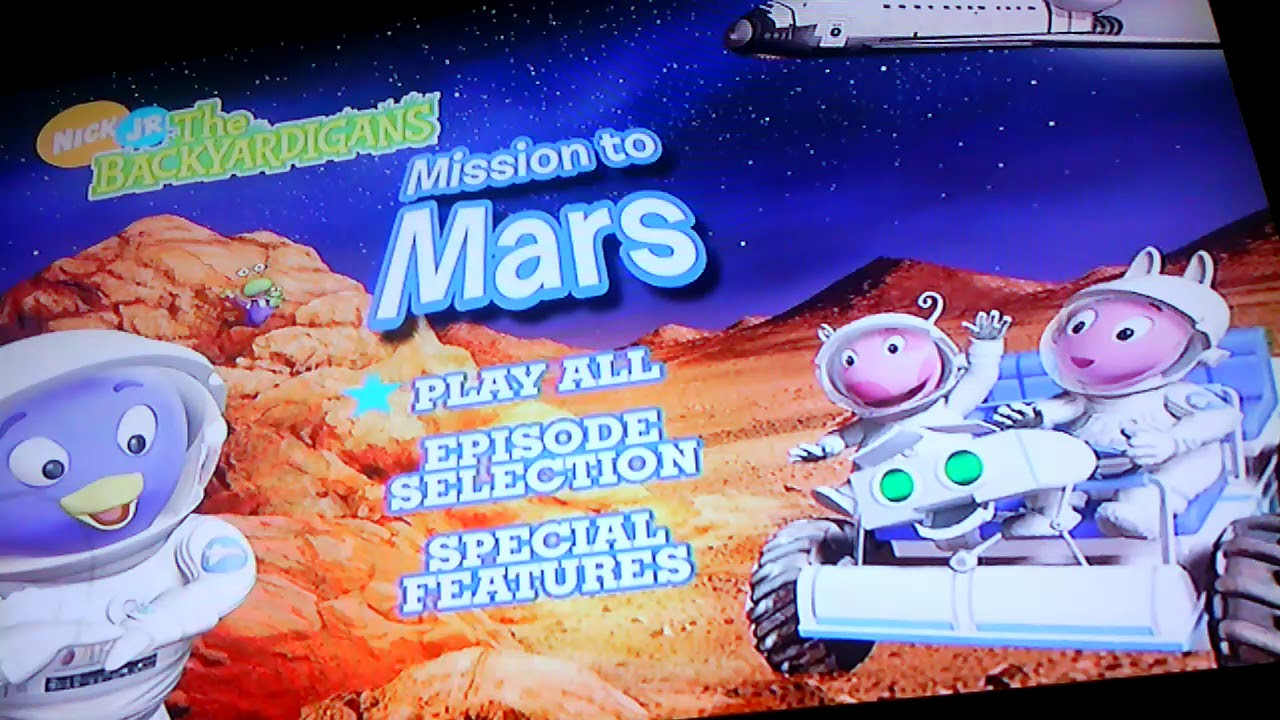 The BACKYARDIGANS- Mission to Mars - YouTube