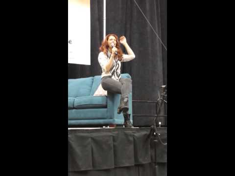 Second part to Alaina Huffman's Grand Rapids Comic Con Panel