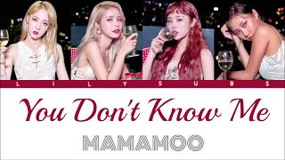 [ROM/KAN/ENG] Mamamoo - You Don't Know Me (Japan Debut Single)