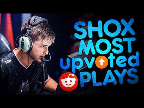 CS:GO - SHOX 'S MOST UPVOTED REDDIT PLAYS OF ALL TIME! (INSANE CLUTCHES & SMART PLAYS)