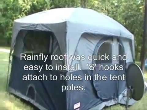 Bon Coleman Hampton 9 Person Tent Option #1 REVIEW   YouTube