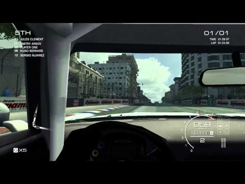 Intel Core M (HD 5300) Gaming - GRID Autosport - Benchmark -