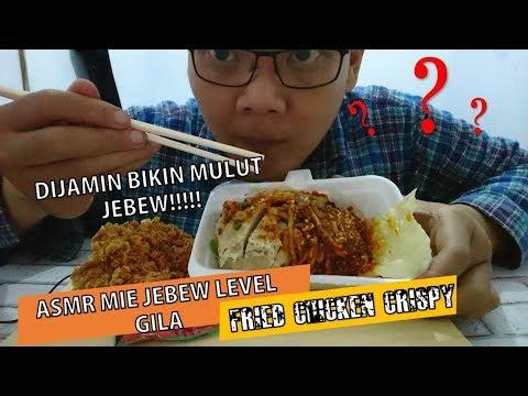 asmr-no-talking-mie-jebew-bakso-jumbo-teh-emil+fried-chicken-crispy-kuliner-garut-|-asmr-indonesia