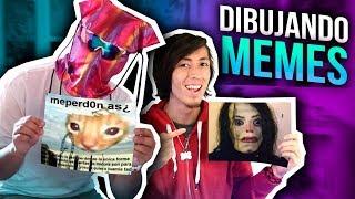 DIBUJANDO MEMES CON DYLANTERO - MR. PHILLIP