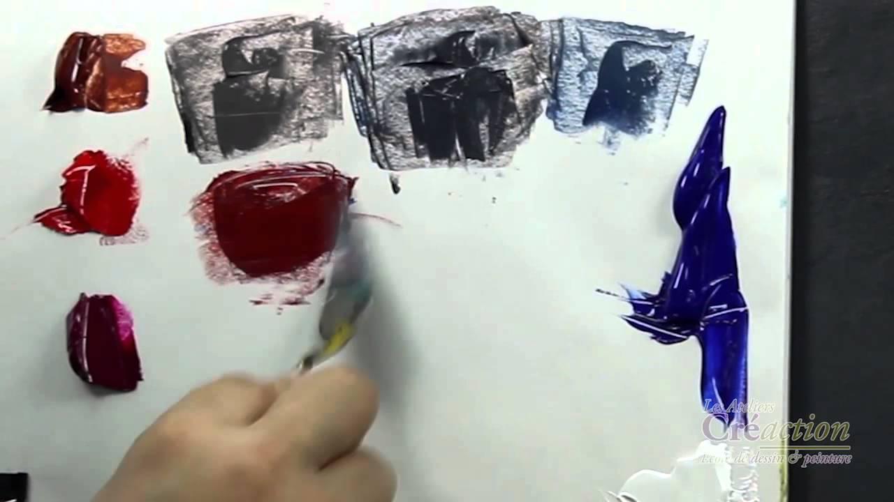 Comment Fabriquer Des Violets Cours De Peinture Gratuit Mathieu Robert
