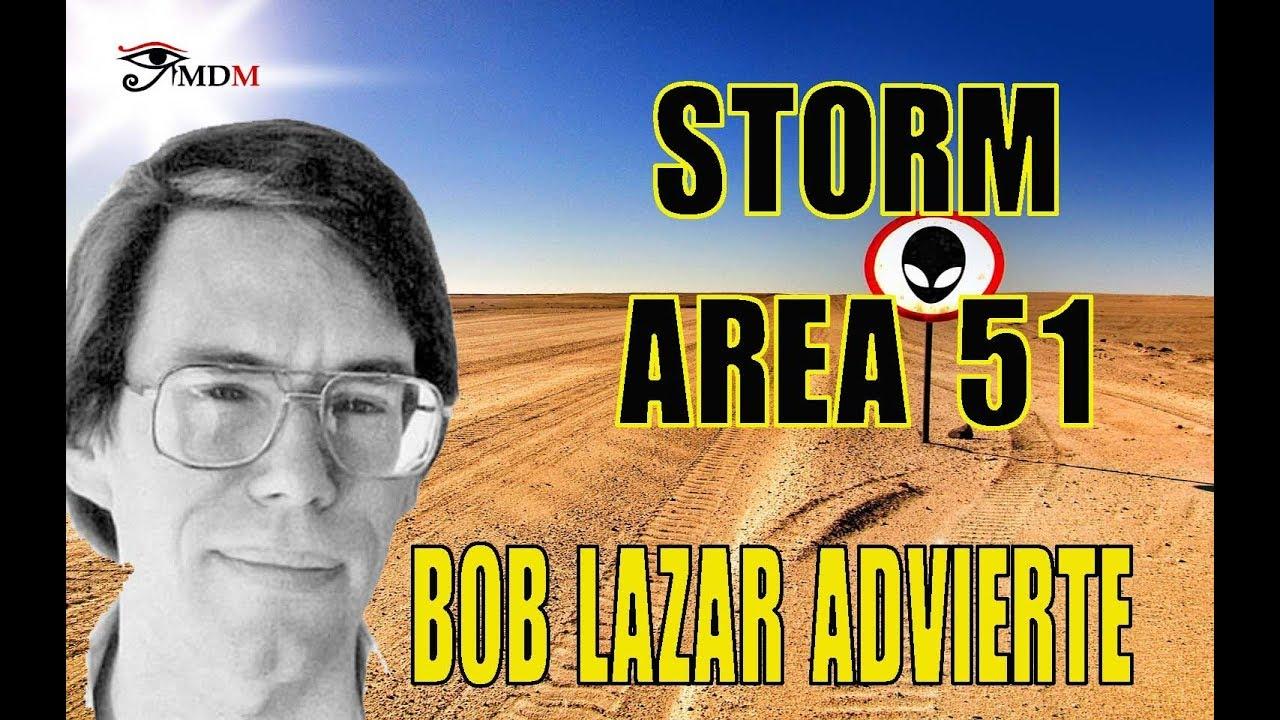 Storm ÁREA 51. Bob Lazar advierte a los casi 2 MILLONES de participantes