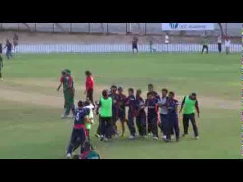 Nepal v Kenya - The last over!
