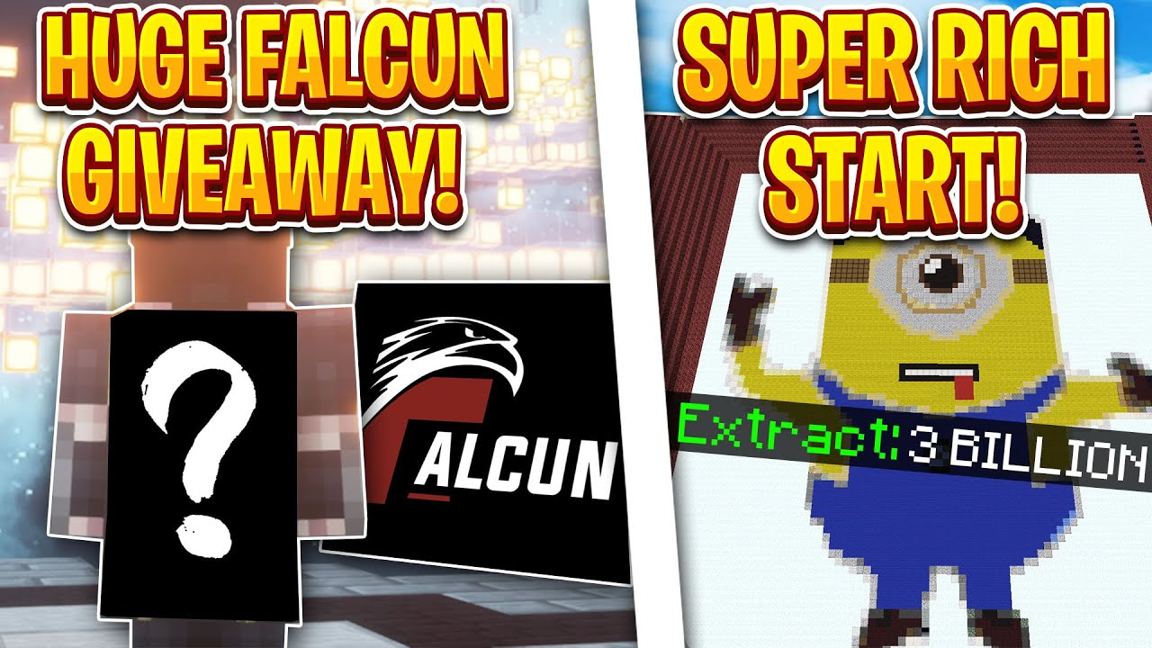 THE RICHEST START EVER! *HUGE GIVEAWAY* I Minecraft Factions I TheArchon I Onyx