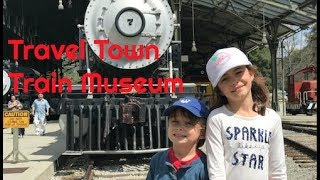 Travel Town Train Museum for KIDS!