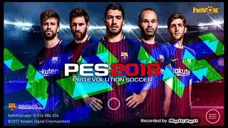 Descarga dream league soccer mod PES 2018