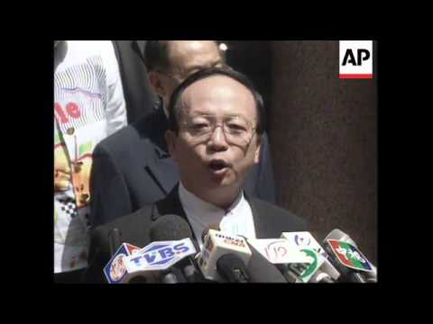 SOUTH AFRICA: TAIWANESE FOREIGN MINISTER MEETS PRESIDENT MANDELA