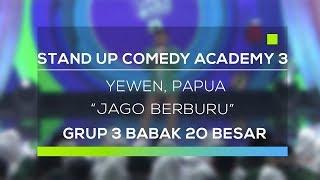 Stand Up Comedy Academy 3 : Yewen, Papua - Jago Berburu