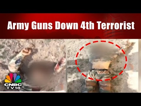 Army Guns Down 4th Terrorist | Jammu Terror Attack | CNBC TV18