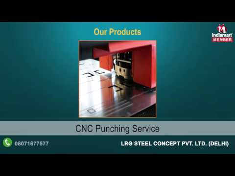 Cutting and Punching Service By LRG Steel Concept Pvt. Ltd., Delhi