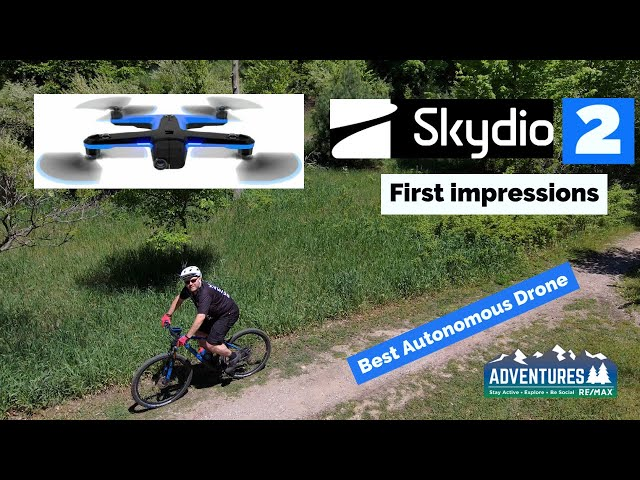 Skydio 2 Drone First Launch   Best Autonomous Drone on the market