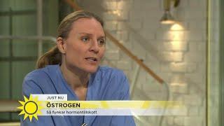 """Brist på östrogen – """"Vissa surfar in i klimakteriet, medan andra lider oerhört mycket"""" - Nyhetsmorgo"""