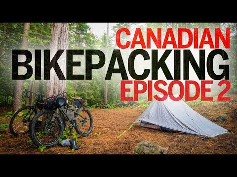 Ontario Bikepacking - Day 2 - North Frontenac to Plevna (90km in 10 hours!)
