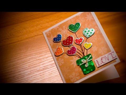 DIY:Открытка к Дню Святого Валентина