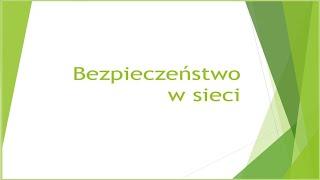 Wykład UTW - Bezpieczeństwo w sieci