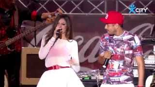 MIHAELA FILEVA ft. VENZY – OPASNO BLIZKI – Live at Coca-Cola Happy Energy Tour 2014 Sofia