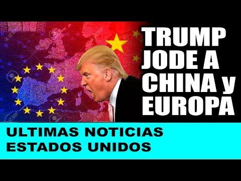 Ultimas noticias de EEUU, TRUMP ARREMETE CONTRA CHINA Y EUROPA 23/09/2018