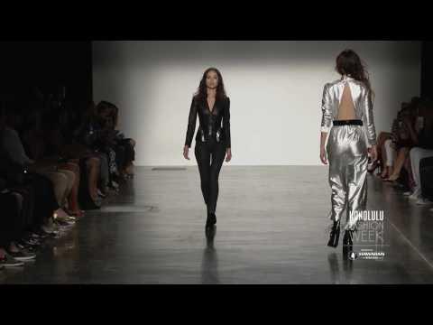 Asaf Ganot Runway Show at HONOLULU Fashion Week