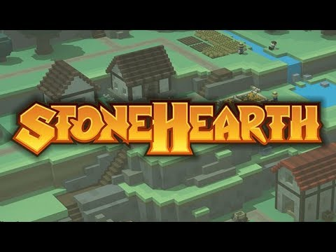 Stonehearth 2019 - City Building Colony Manager with Great Visuals!