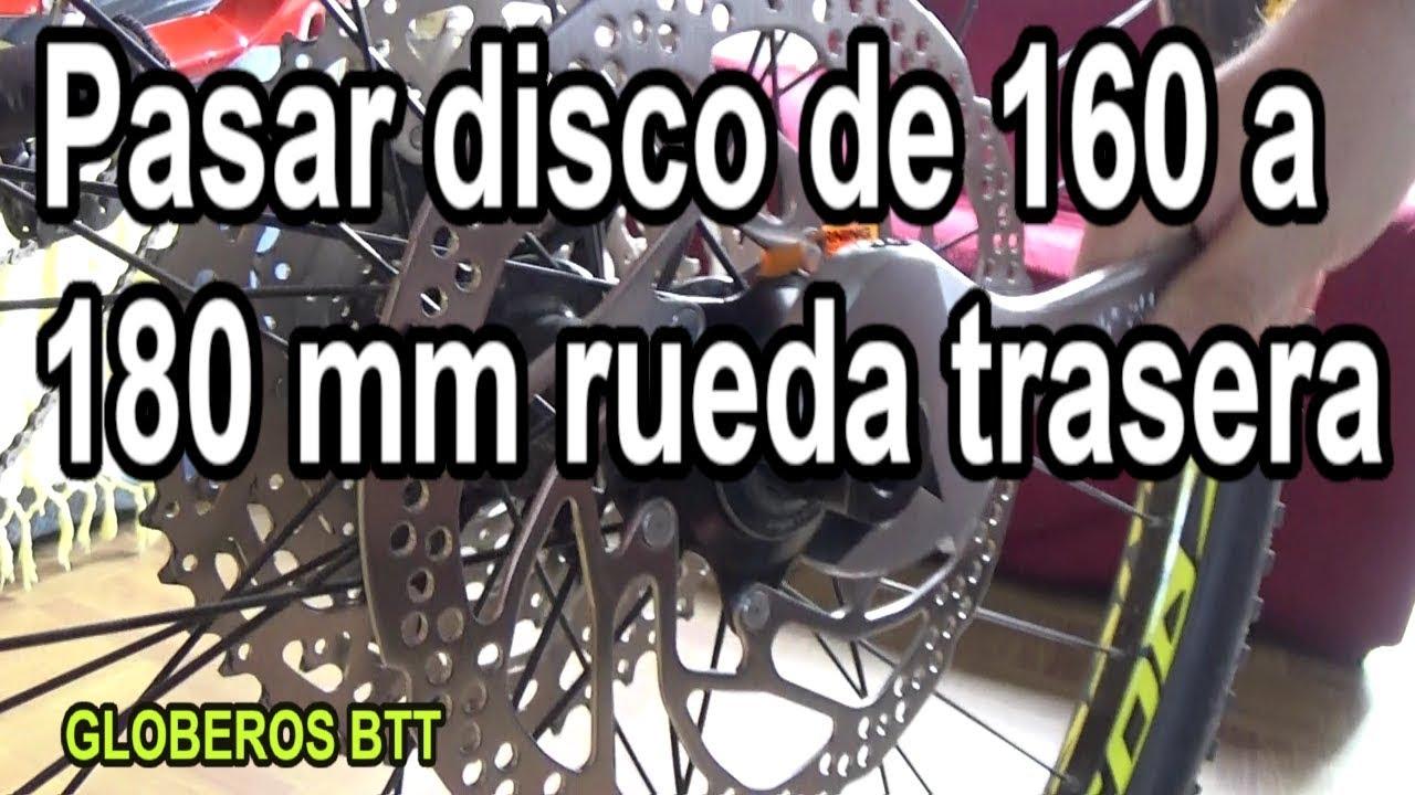 Ultralight Disco de Freno Adaptador Trasero 180mm Envio Pm Marco a Pinza