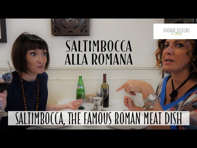 Saltimbocca, the Famous Roman Meat Dish - Foodie Sisters in Italy
